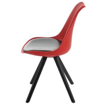 lot-de-4-chaises-de-salle-a-manger-retro-simili-cuir-rouge-et-noir-pieds-bois-cds04189