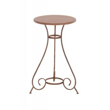 table-de-jardin-ronde-en-fer-forge-diametre-o-40-cm-marron-vieilli-tab10003
